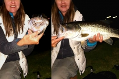 Night fishing at Beacon Vlei, when the big boys come out to play