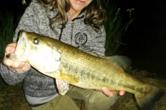 My biggest bass of the weekend caught while night fishing. Super exciting!