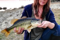 Second bass of the season at Rietvlei Dam