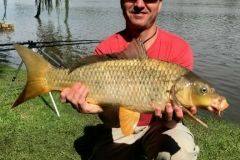 At least Martin managed to land a nice big carp