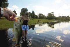 Another little bass for Martin