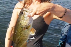 Linky with another one of many bass