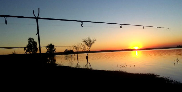 vaal dam sunset