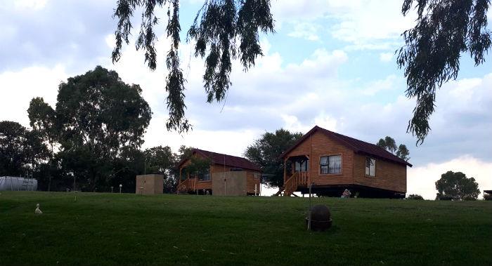 la retraite vaal river cabins front