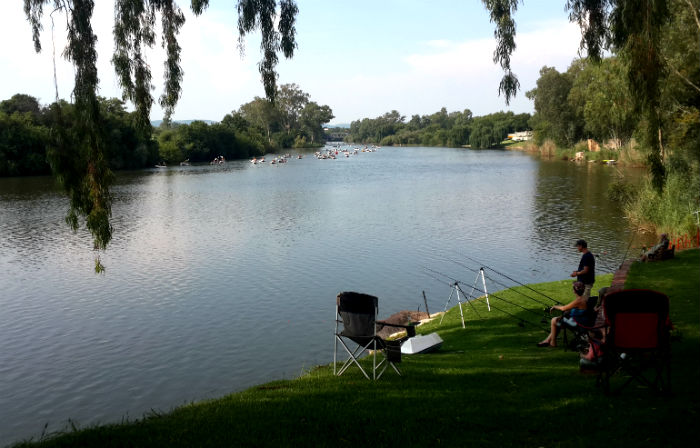 la retraite vaal river fishing area