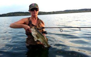 rietvlei dam bass wading