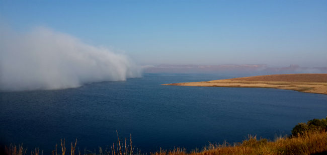 sterkfontein dam mist