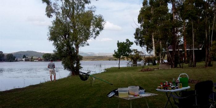 fishing vrede dam
