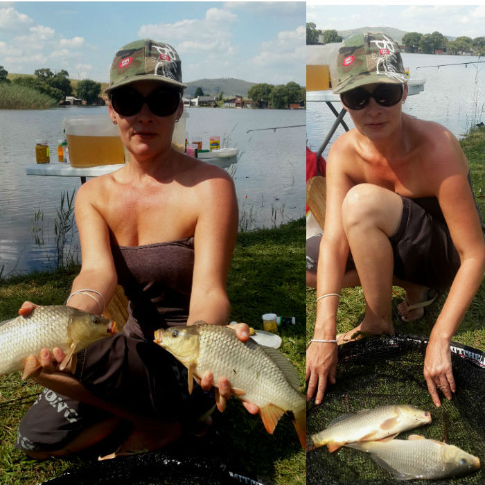 fishing at vrede dam