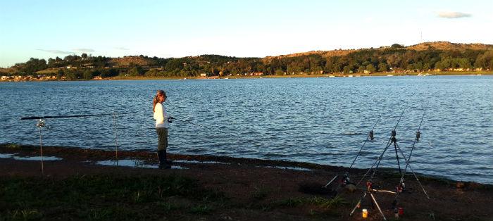 baja dam bronkhorstspruit dam fishing