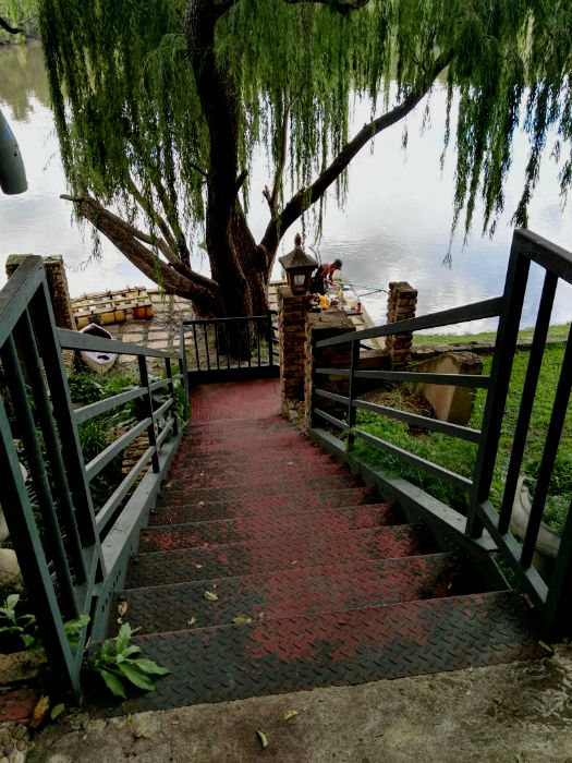 riverhouse vaal river stairs