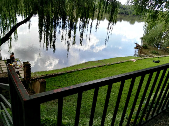 riverhouse vaal river view of fishing area