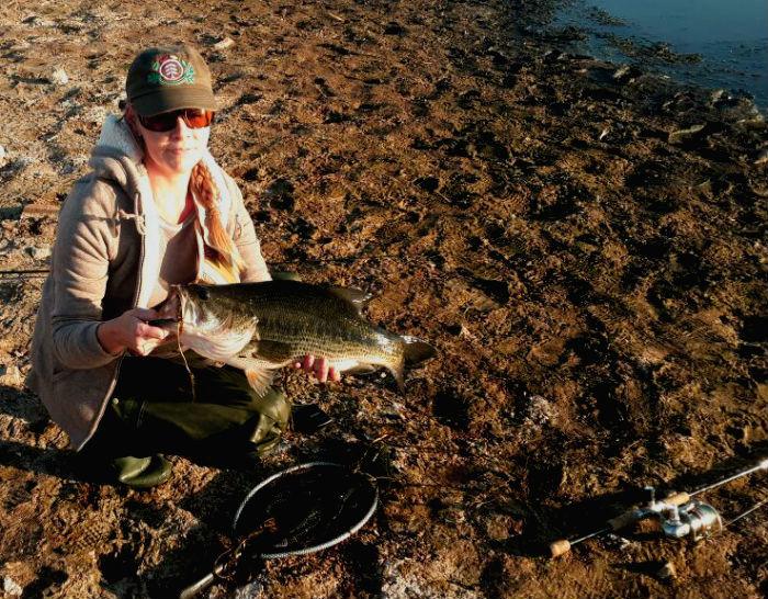 rietvlei dam winter bass fishing