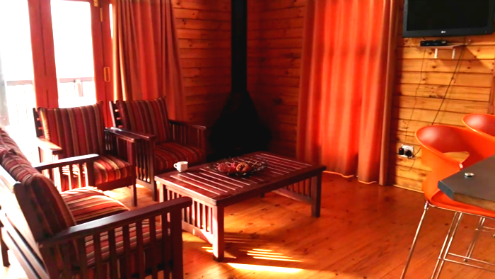 koppies dam nature reserve cabin inside