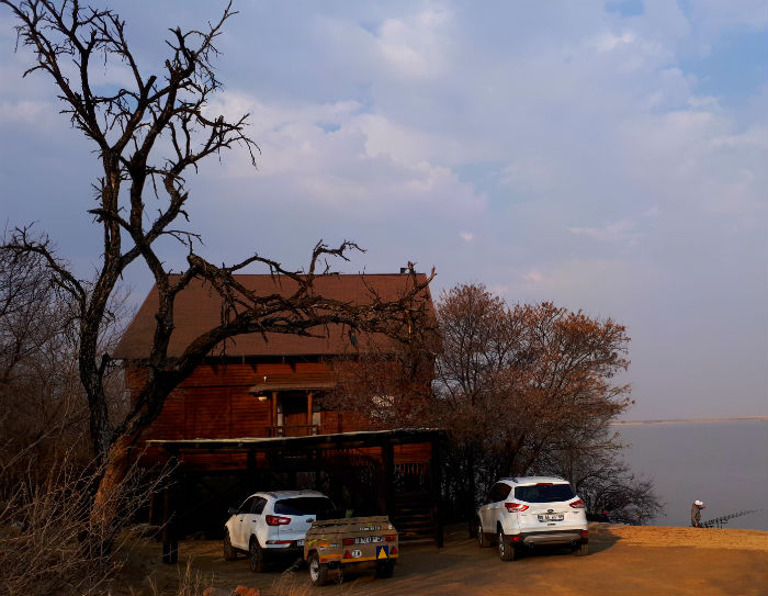 koppies dam nature reserve cabin view from back