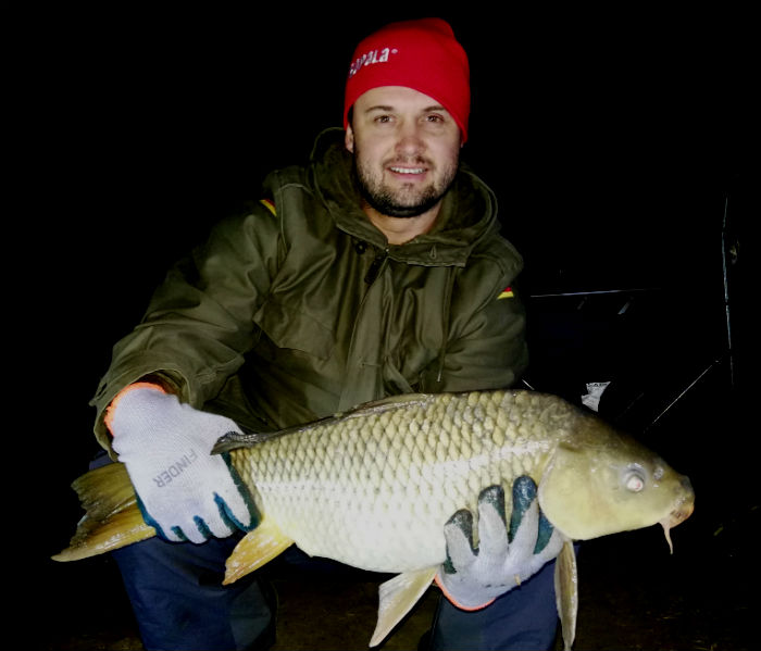 nandini vaal river jannes carp night fishing