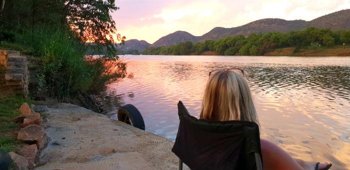 erkhamka vaal river sunset 2
