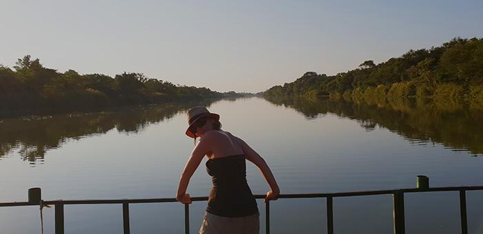 komati river fishing no luck