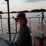 komati river fishing on barge 2