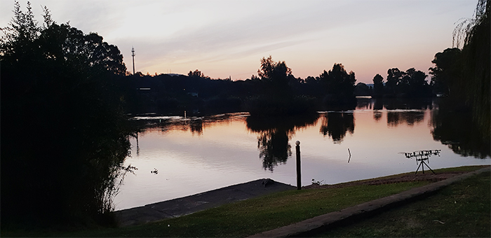 the dell vaal river fishing area