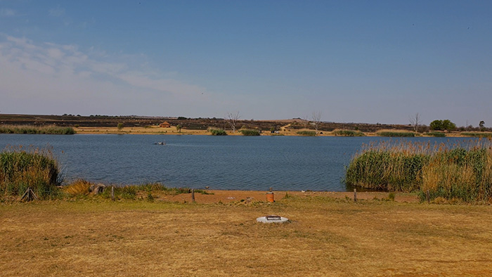 rietvlei dam view from chalets