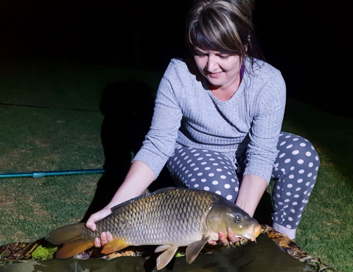 vaal de sioleh vaal river j night carp