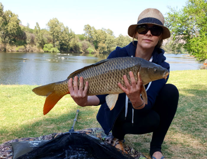 vaal de sioleh vaal river linky big carp