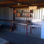 vaal dam zandfontein kitchen area