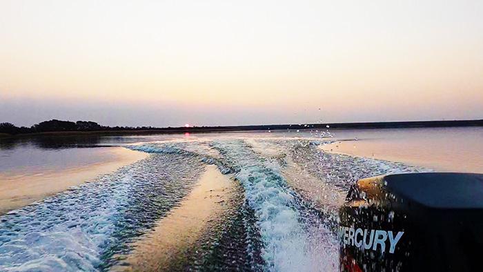 rust de winter dam going home