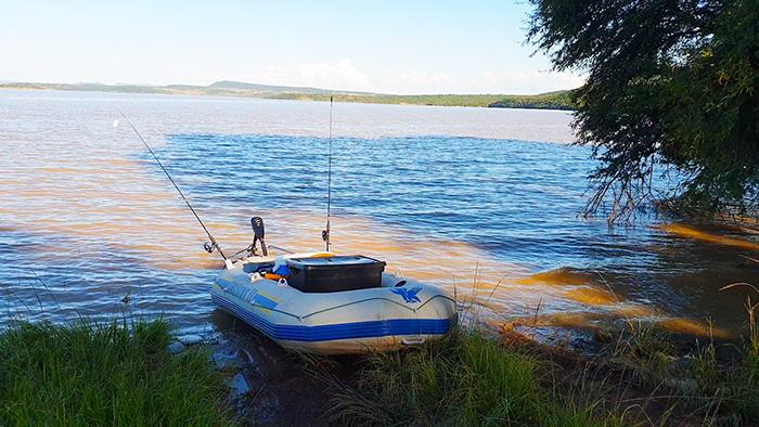 spioenkop dam yacht